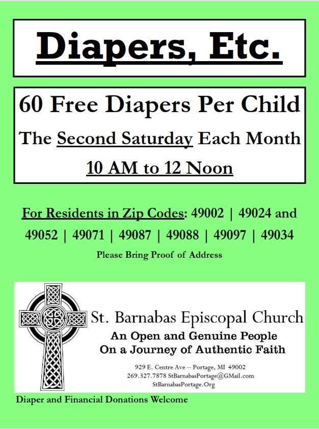 Diapers, Etc. Details